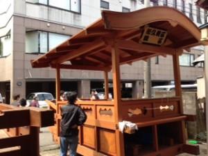 新明神社山車