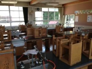 理科室の風景
