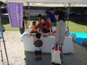 昭和の遊びブースではたくさんのお子さんが遊んでいきました