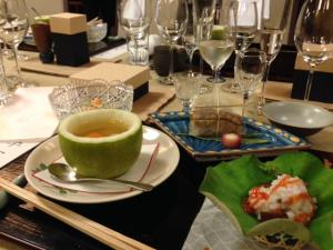 福井市浜町の開花亭さんで友田晶子さん、奥井隆社長のグルマン料理本大賞受賞記念祝賀会が行われ、福井ガストロノミー協会の一員として参加をさせていただきました