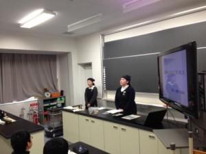 春江中学校での職業別選択講座、天たつより講師で出た新入社員二人目が鈴木さんでした。仕事の大変さややりがいなどを自分の言葉で伝えていただき、生徒の皆さんにも伝わったのではないかと思います