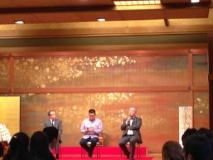 天たつも参加させていただいております福井ガストロノミー協会の2015年3月レセプションを成澤シェフ、門上様をお迎えし開催されました