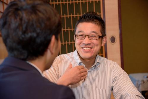 伊藤酒造蔵元杜氏の伊藤さんと天たつ11代目天野準一の対談